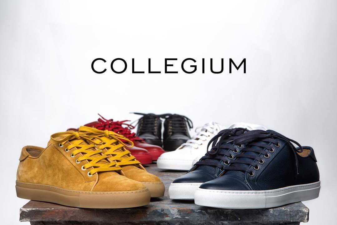 "54c5bd33b781 ""From California to Italy"" Collegium shoes – UNXPSD"